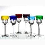 Olga Crystal Wine Glass Set of 4